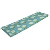 "Mainstays Solid Turquoise 46"" Outdoor Bench Cushion"