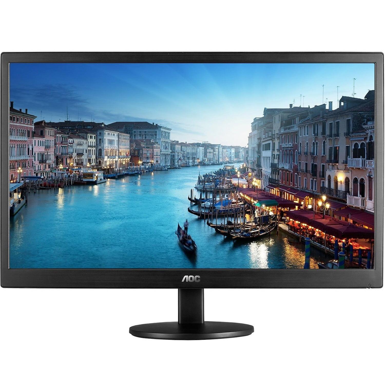 AOC 23.6 E2470SWHE Dual HDMI/VGA Full HD 1080p Widescreen Slim LED LCD Monitor (