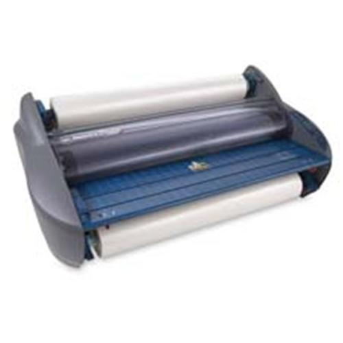 General Binding Corporation GBC1701720EZ Roll Laminator- 27inchW- 12ft.  per Min- w-Trimmer- 2 Settings- BEGY