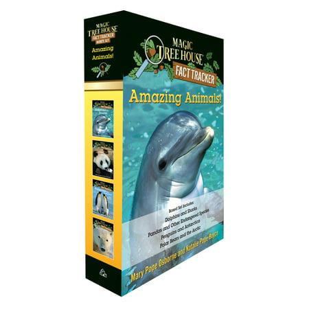 Amazing Animals! Magic Tree House Fact Tracker Boxed