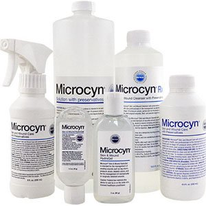 Microcyn skin and wound care with preservatives, 250 ml part no. 84491 (1/ea)