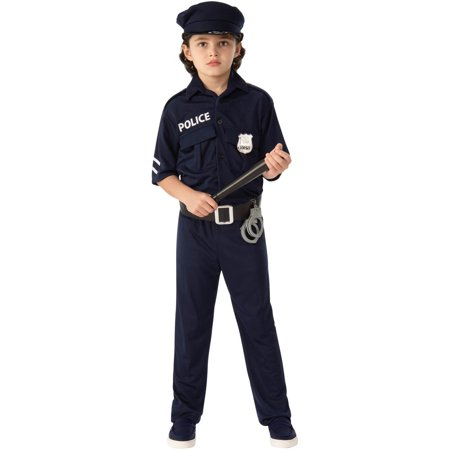 Police Child Halloween Costume - Walmart Police Costume