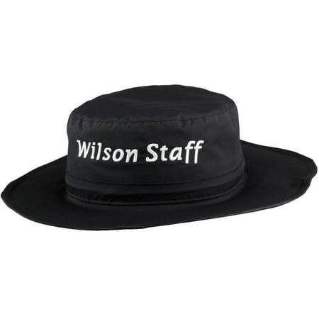 Wilson Rain Bucket Hat (Black, One Size Fits Most) Golf NEW