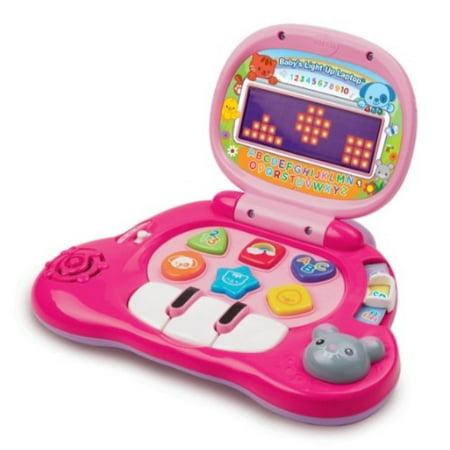 VTech Baby's Light-Up Laptop, Pink. (Vtech Camera Pink Best Price)