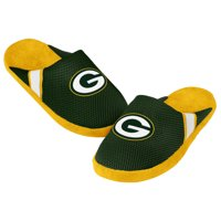 Green Bay Packers Jersey Slippers - 12pc Case
