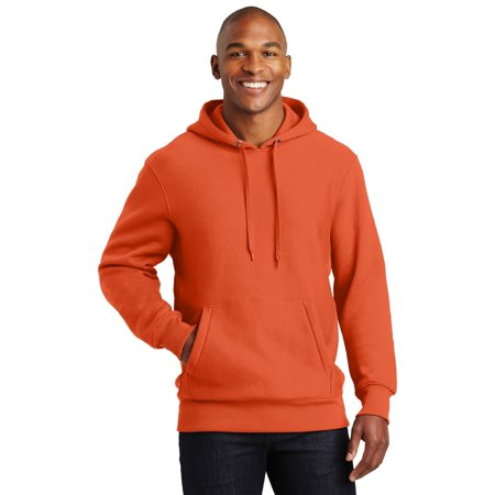 Sport-Tek® Super Heavyweight Pullover Hooded Sweatshirt.  F281 Orange Xl - image 1 de 1