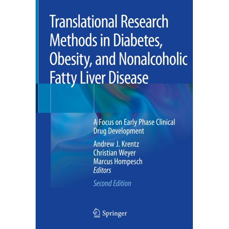 Translational Research Methods in Diabetes, Obesity, and Nonalcoholic Fatty Liver Disease - eBook