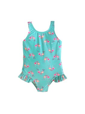 b6b41f34e3 Product Image Flamingo One-Piece Swimsuit (Toddler and Infant Girls)