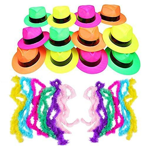 Neon Party Supplies - Neon Party Favors - Party Dress Up by Funny Party Hats