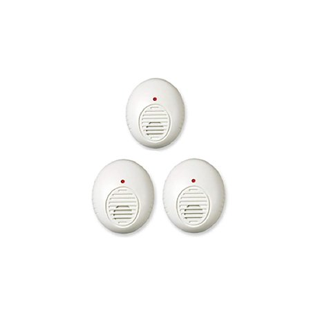 PR30-3M Ultrasonic Pest Repeller, 3 Pack, Simply plug the lentek ultrasonic pest control device into an unobstructed wall outlet in the room.., By Lentek