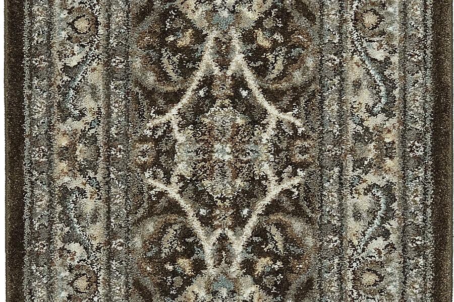 """Karastan Euphoria Newbridge Brown (2' 4""""x7' 10"""") by Mohwak Home"""