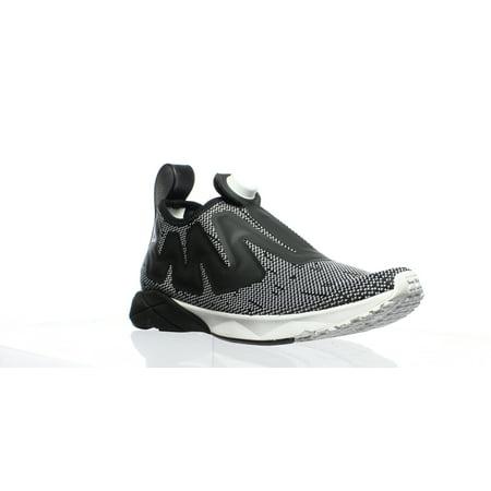 Athletic Running Pumps - Reebok Mens Pump Sumpreme White/Black Running Shoes Size 7