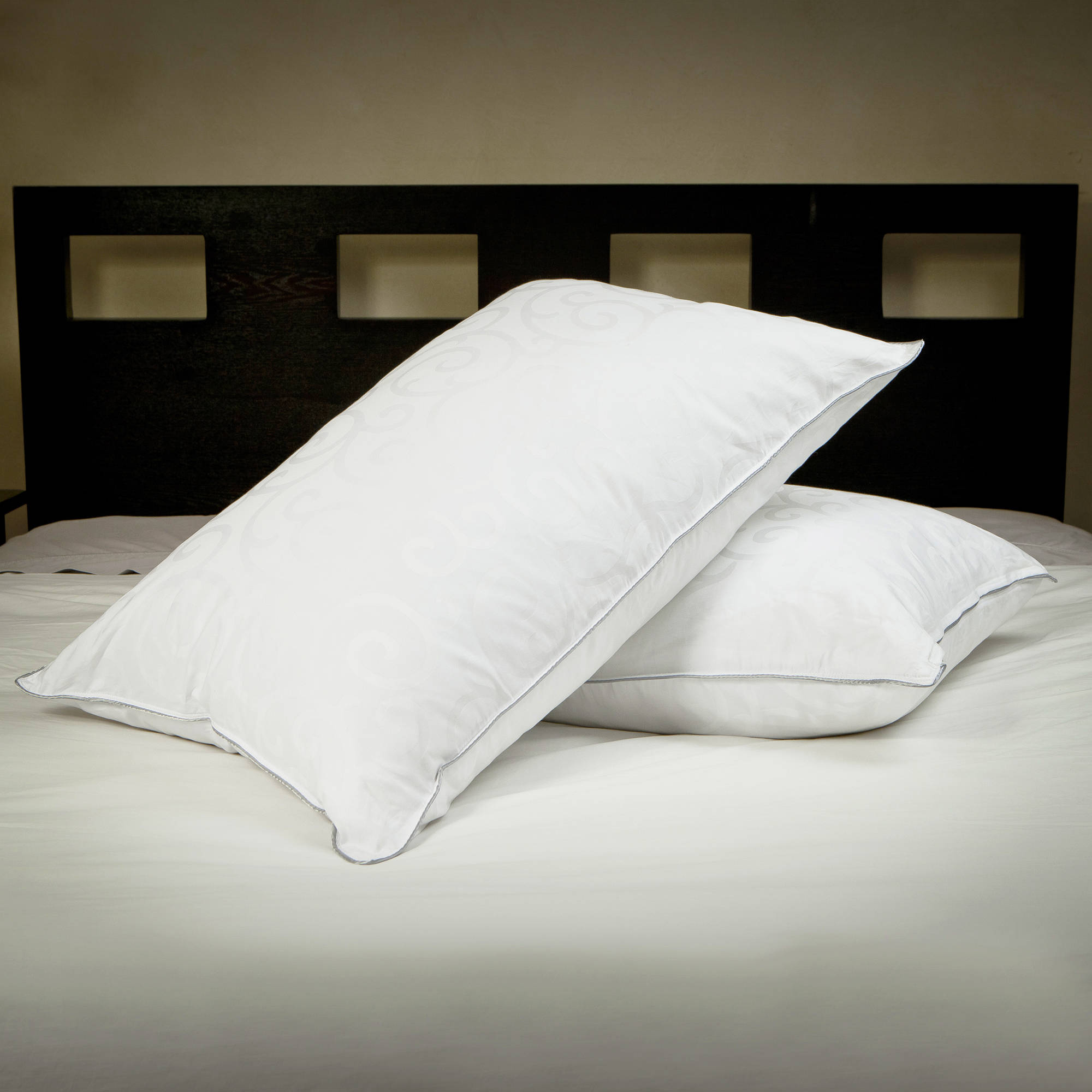 Candice Olson Down Alternative Pillow with Removable Cover, Set of 2