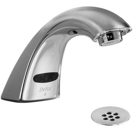 Electronic Single Hole Faucet (Delta 590LF-HGMHDF Commercial Single Hole Electronic Lavatory Faucet,)