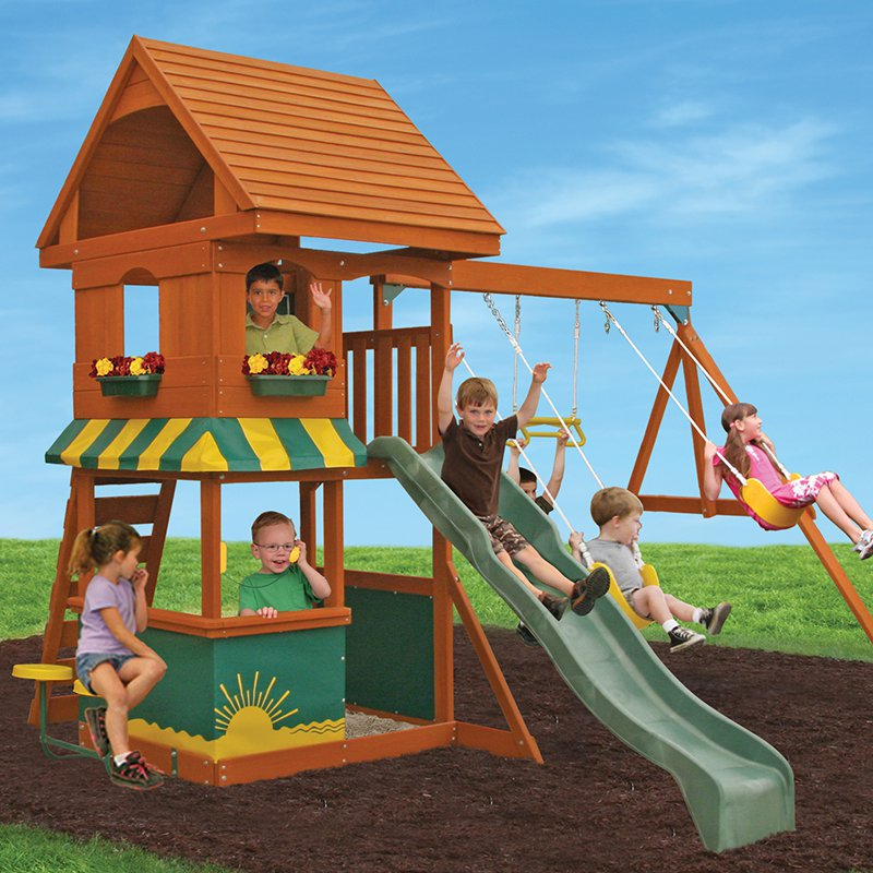Big Backyard Magnolia Swing Set