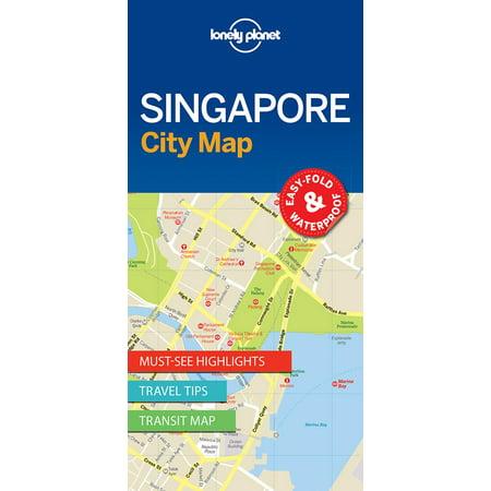 Singapore City Map - Folded Map ()