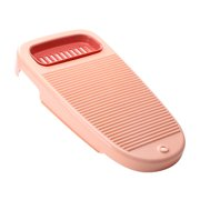 SANWOOD Washboard Plastic Thickened Washboard with Draining Board Soap Box Washing Cleaning Tool