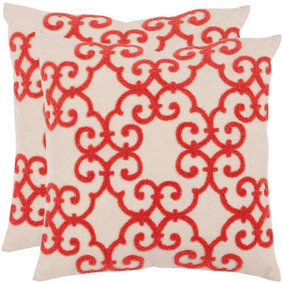 Safavieh Sonya Geometric Pillow, Set of 2