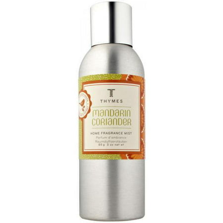 Thymes Mandarin Coriander Home Fragrance Mist 3Oz