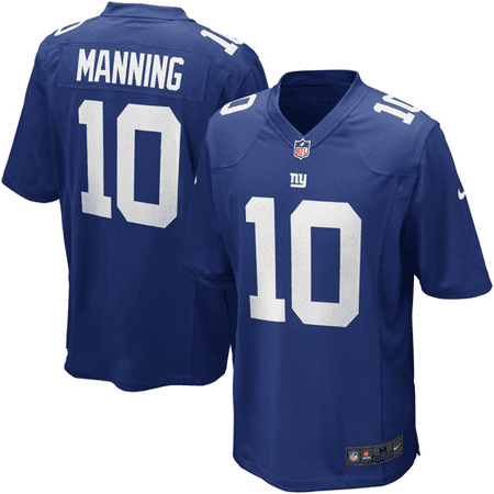Eli Manning New York Giants Nike Youth Team Color Game Jersey - Royal (Eli Manning Signed Jersey)
