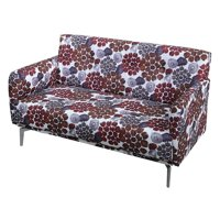 U.S. Pride Furniture Emma Flower Print Loveseat