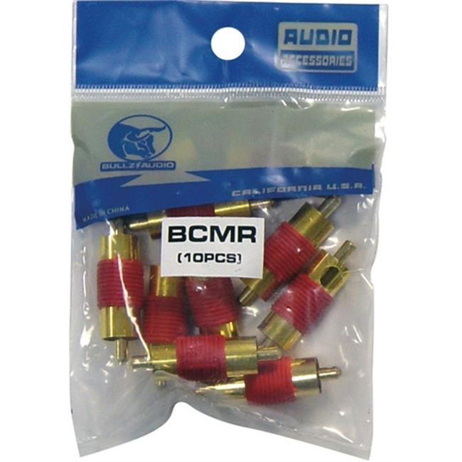 XSCORP Male Rca Couplers - 10 Per Pack