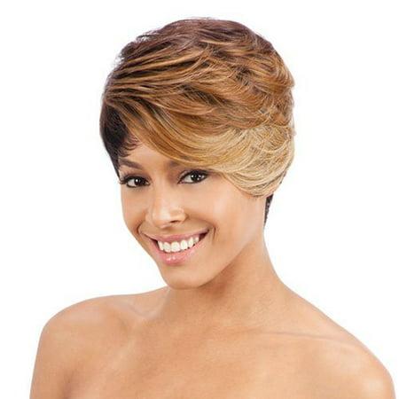 freetress equal synthetic wig - erin (1b) Freetress Half Wigs