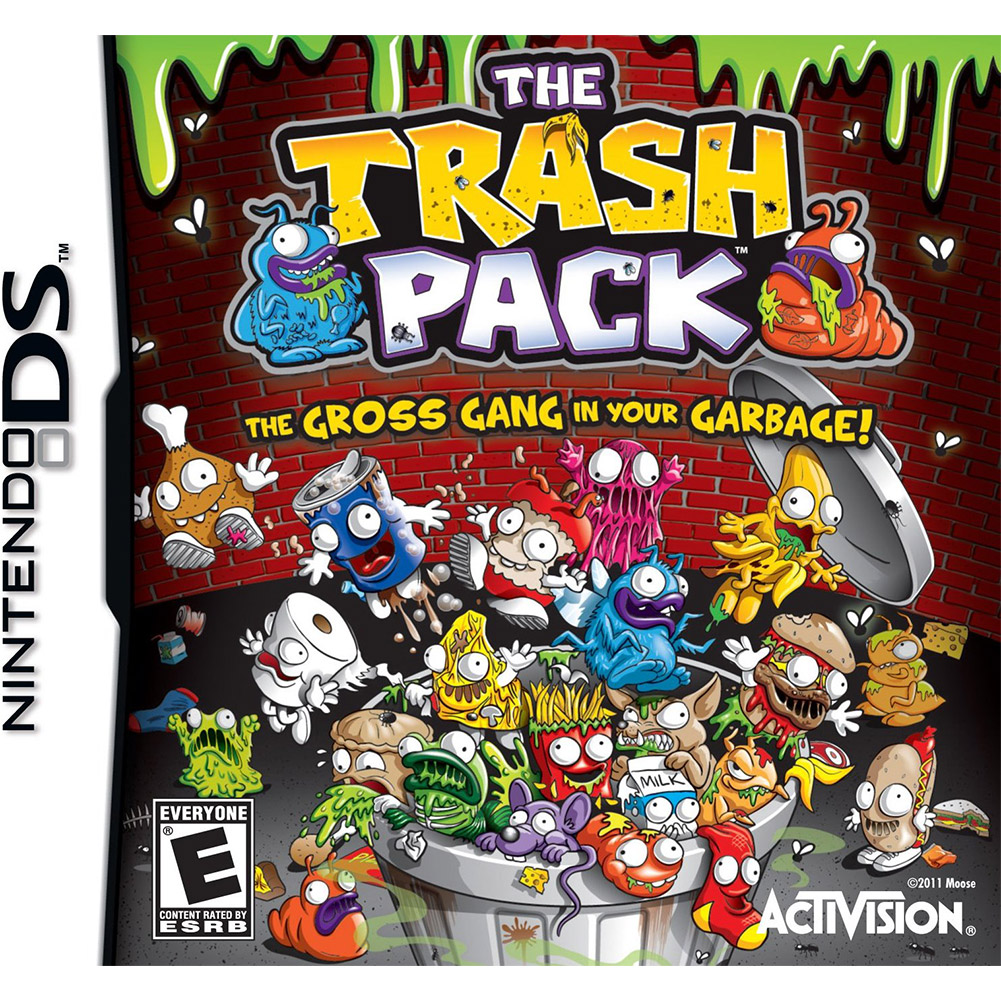 The Trash Packs, Activision, Nintendo DS, 047875767201
