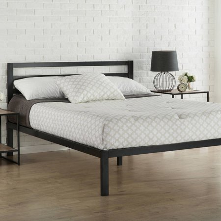 Zinus Platform 3000 Metal Bed Frame With Headboard