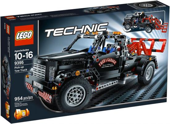 Lego Technic Pick-Up Tow Truck Exclusive Set #9395 by LEGO Systems, Inc.