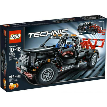 lego technic pick up tow truck exclusive set 9395. Black Bedroom Furniture Sets. Home Design Ideas