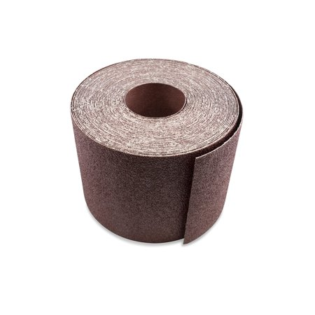 6 Inch X 50 FT Aluminum Oxide Ready-to-Cut Cloth Sanding Roll for Drum Sanders