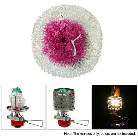 3PCS Camping Light Lamp Lantern Mantles Lampwick Tent Gas Lamp Cover Gauze ()