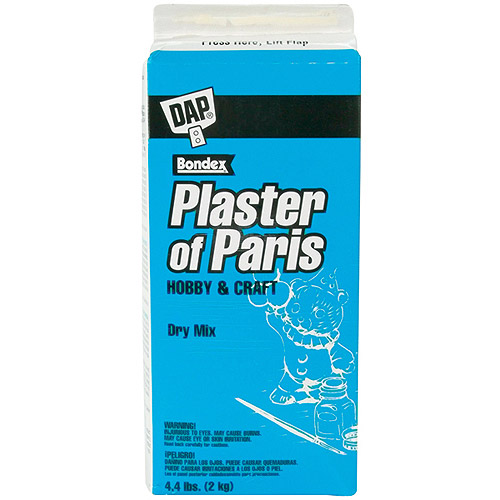 DAP Plaster of Paris Dry Mix 4.4lb Box