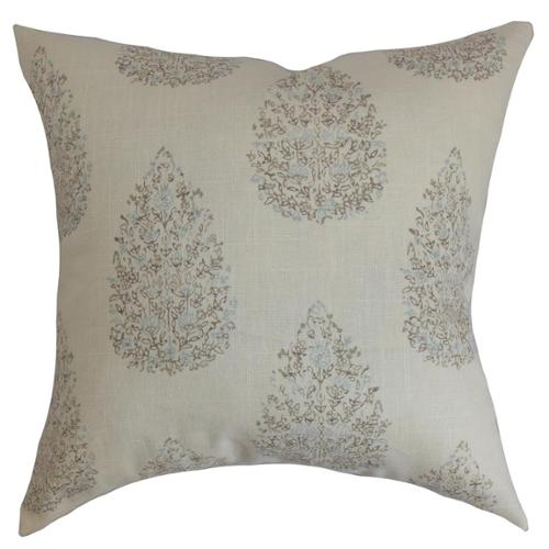 The Pillow Collection Ulei Cotton Throw Pillow