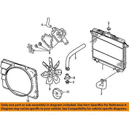 (Dodge CHRYSLER OEM 98-99 Durango-Radiator Cooling Fan Blade Shroud 52029012AC)