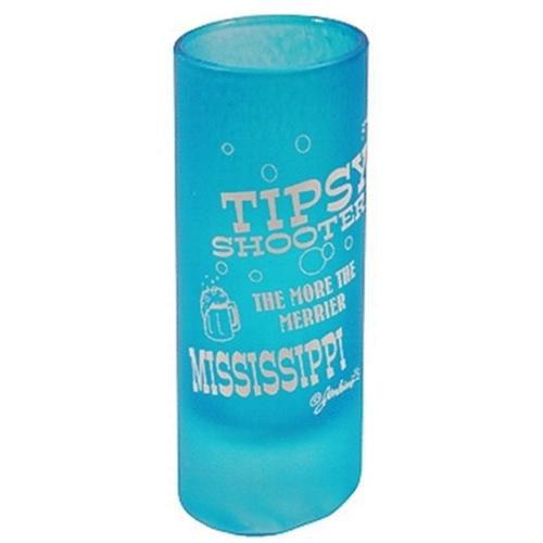 Bulk Buys Mississippi Tipsy Shooter Shot Glass - Case of 48