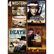 4 Western Films: Kid Vengeance   Grand Duel   Death Rides A Horse   God's Gun by