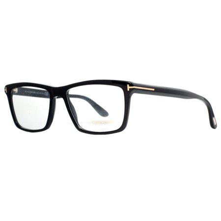c6326b23b3 Tom Ford TF 5407 001 54mm Black Gold Square Eyeglasses - Walmart.com