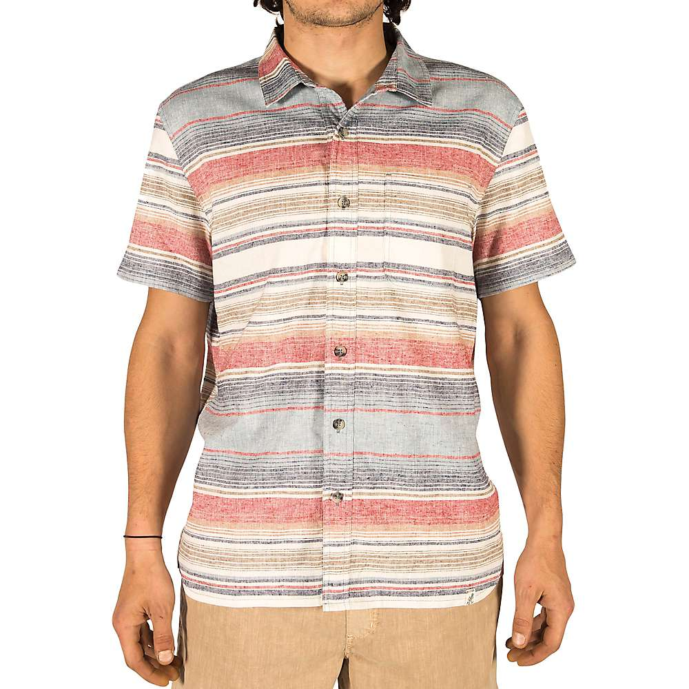 Gramicci Men's Sunset Plaid SS Shirt