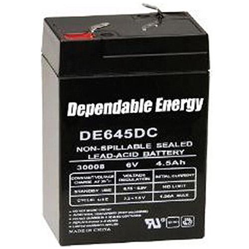 American Hunter DE645DC/6V 4.5A HR Rechargeable Battery