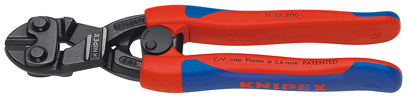KNIPEX Tools 71 32 200 CoBolt High Leverage Compact Bolt Cutters with Blade Recess and... by KNIPEX Tools