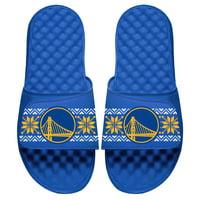 Golden State Warriors ISlide Ugly Sweater Slide Sandals - Royal