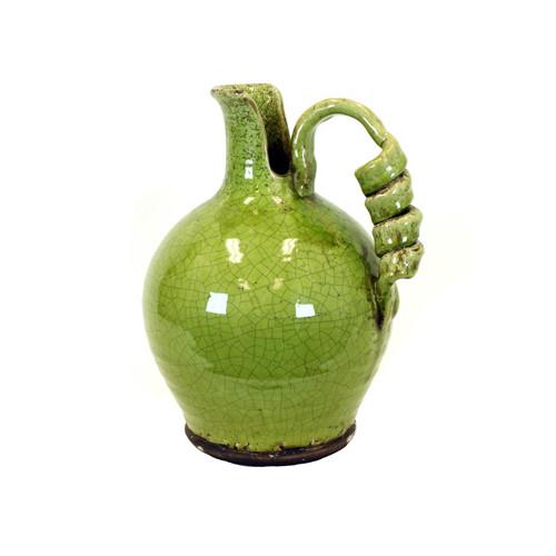 Woodland Imports Antiquated Traditional Ceramic Tuscan Vase by Woodland Imports