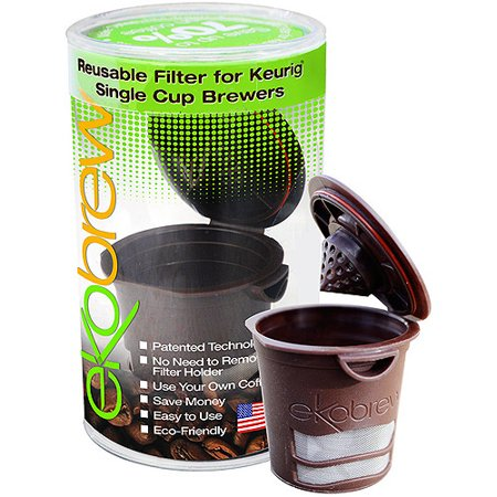 553b8422c8a9 Ekobrew 2.0 K Cup Reusable Coffee Filter, Brown Reusable Filter