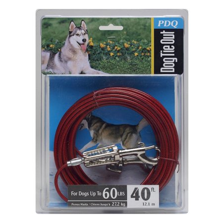 Boss Pet Q3540 SPG 99 40' Large Dog Cable Tie-Out (Leash Cable)