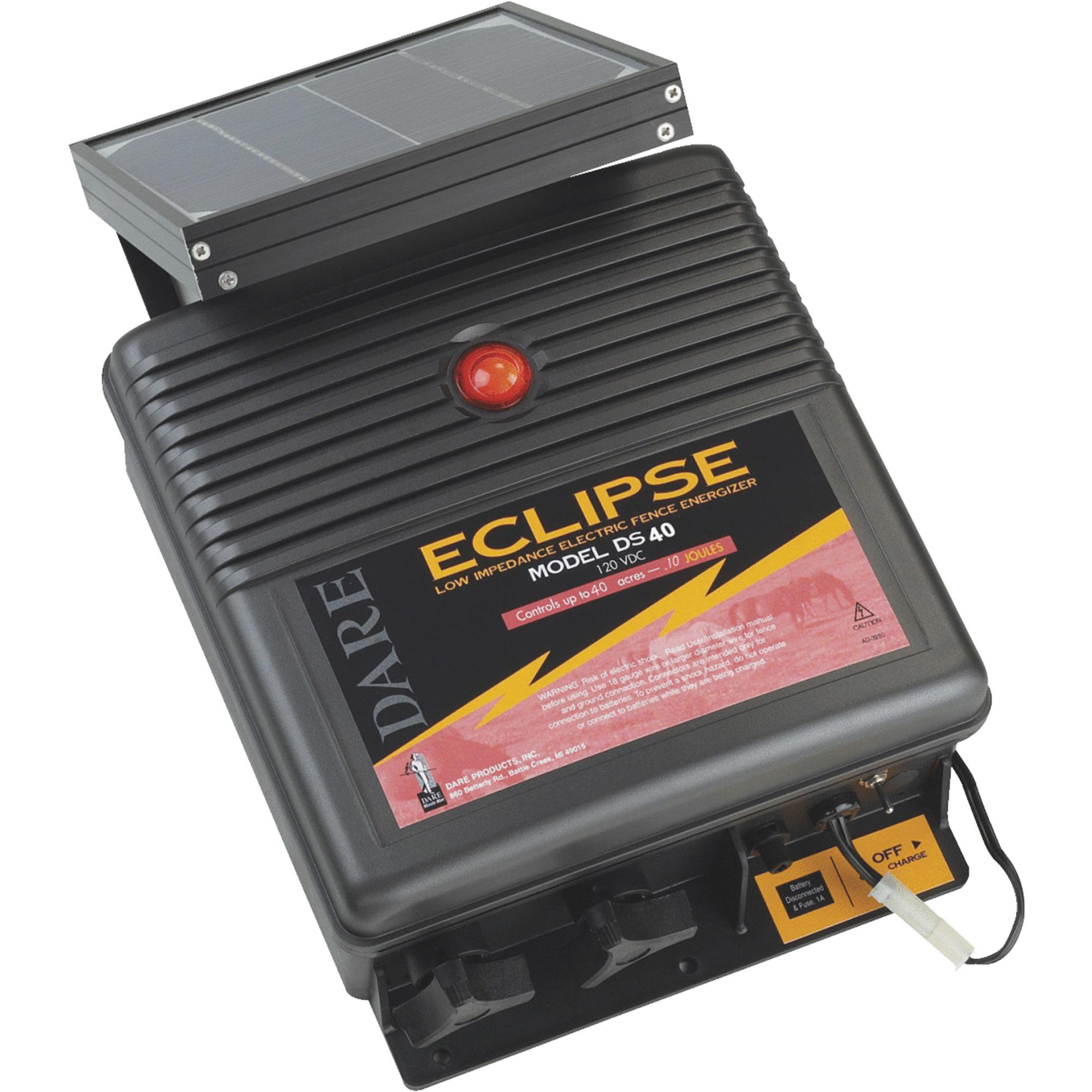 Dare Products Eclipse Solar Electric Fence Charger