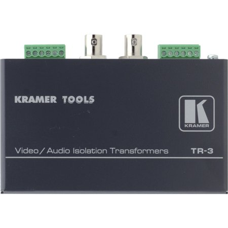 Video & Balanced Stereo Audio Isolation (Video Isolation Transformer)