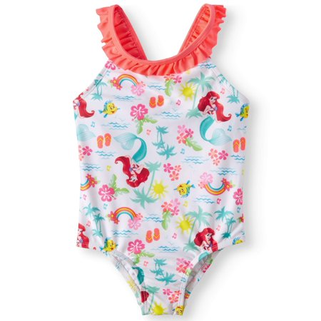 Toddler Girls' The Little Mermaid One Piece Swimsuit