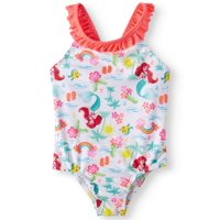 The Little Mermaid One-Piece Swimsuit (Toddler Girls)